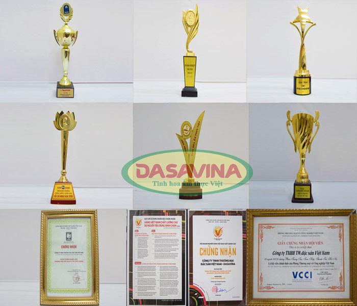 Những giải thưởng danh giá của công ty