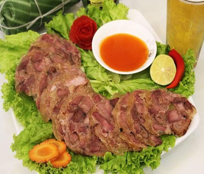 Giò đà điểu - Món ngon độc lạ, bổ dưỡng
